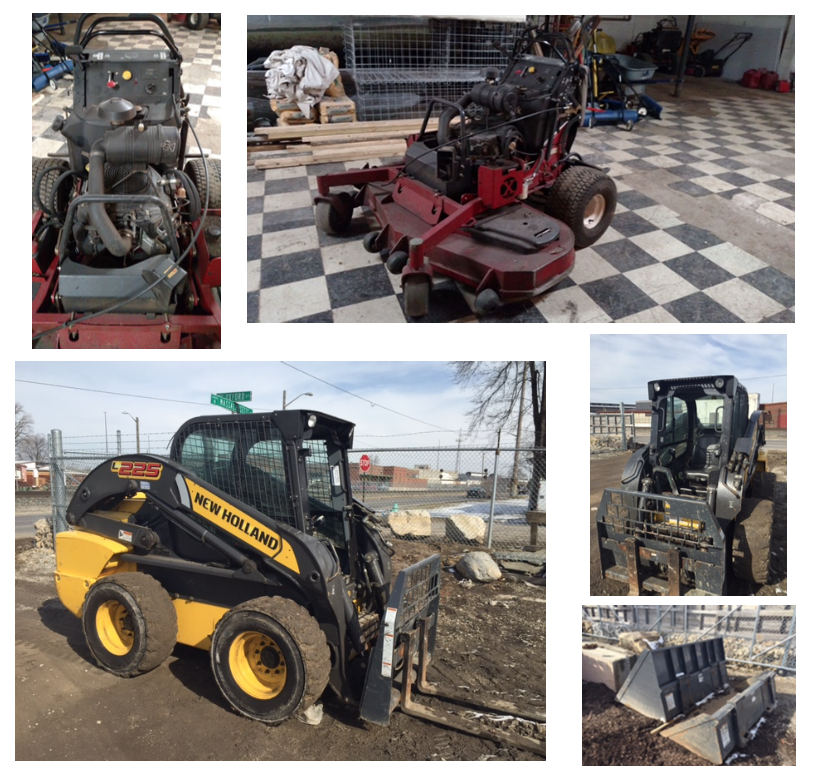 Landscaping Equipment for Sale