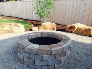Reading Rock Fire Pit